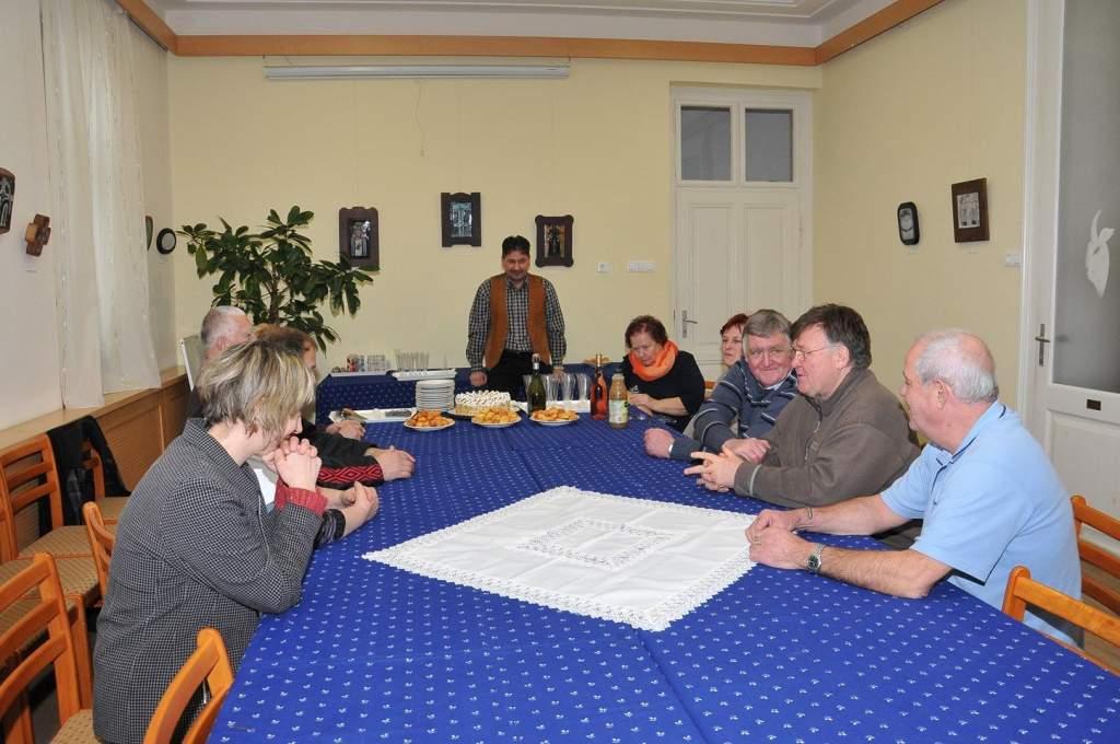 Pál névnapot ünnepelt a Wojtyla Ház kollektívája