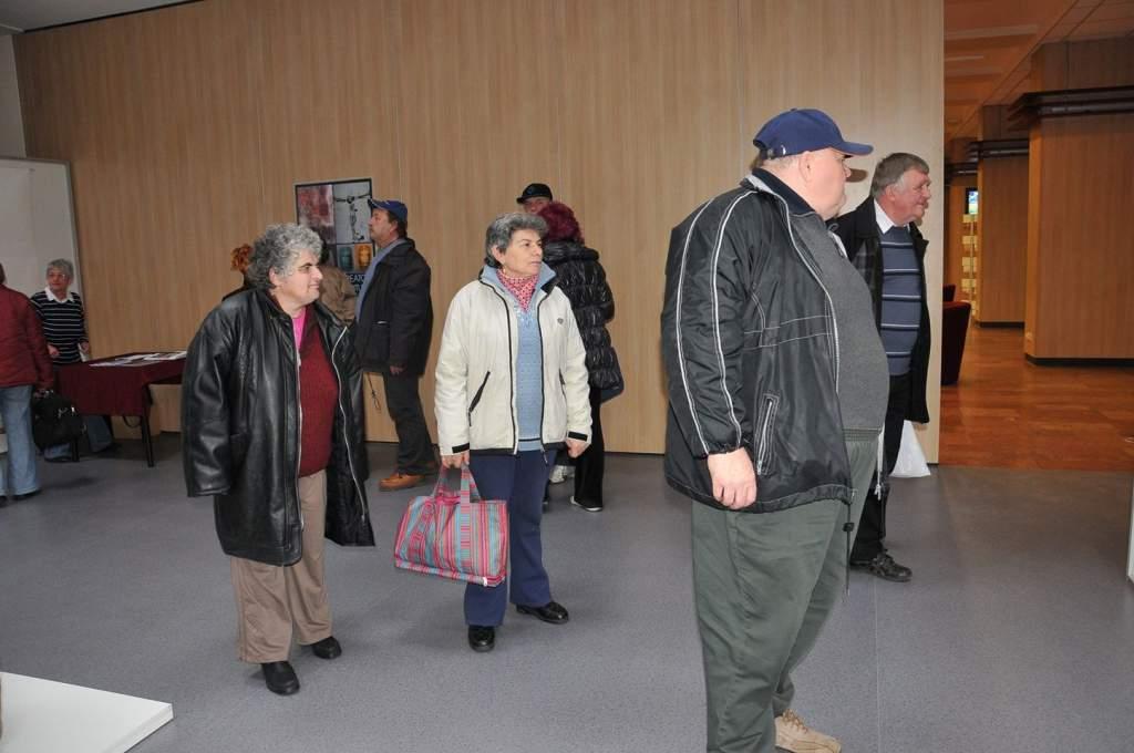 Kiállításokat nézett a Wojtyla Ház családja a Hírös Agórában