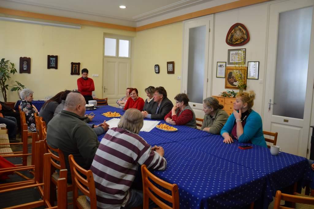 Zoltán névnap és nőnapi ünnepség a Wojtyla Házban