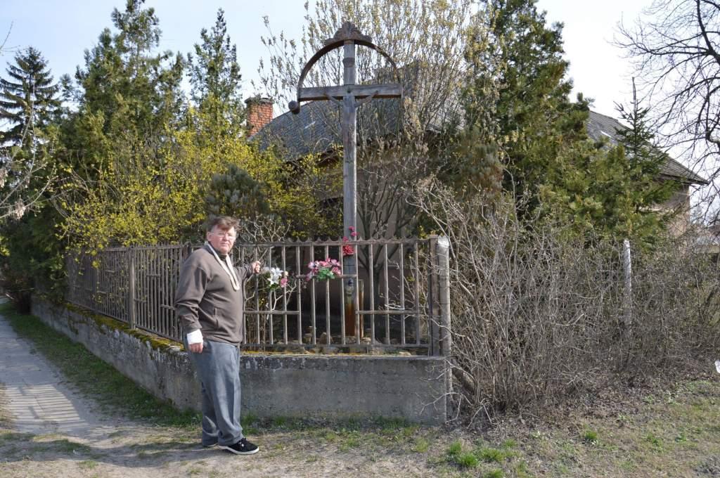 Krisztus-keresztet ment Orgoványon a Porta Egyesület