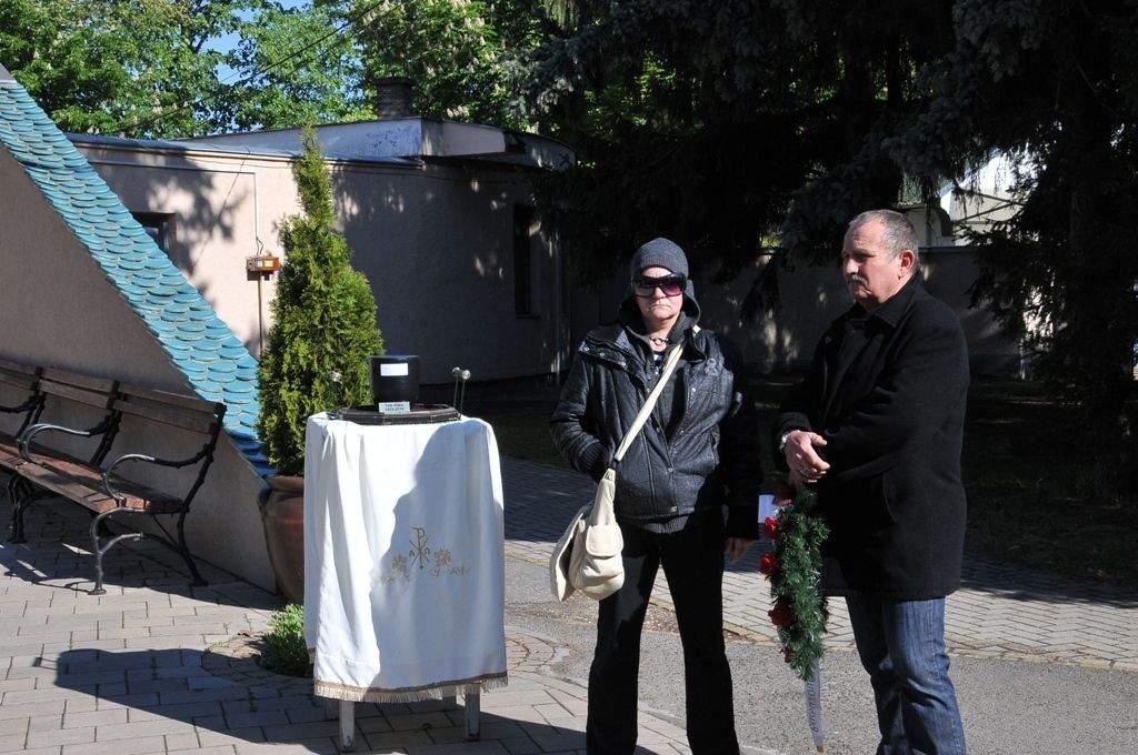 Tóth Klárikát búcsúztatta el a Wojtyla Ház családja
