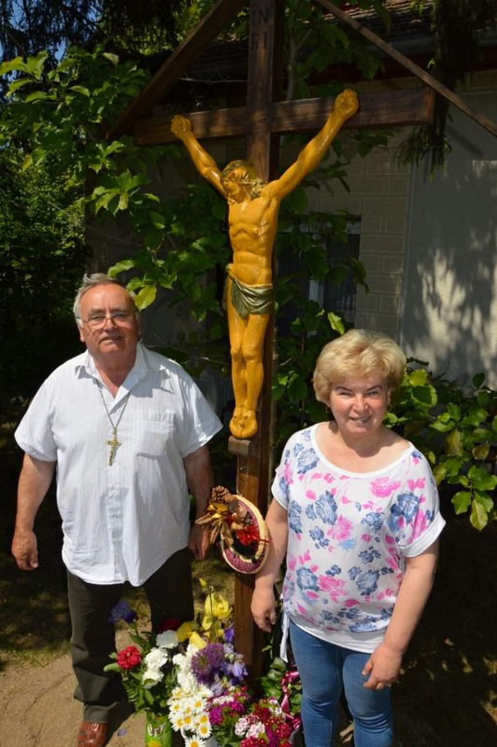 Keresztszentelés Pálmonostorán