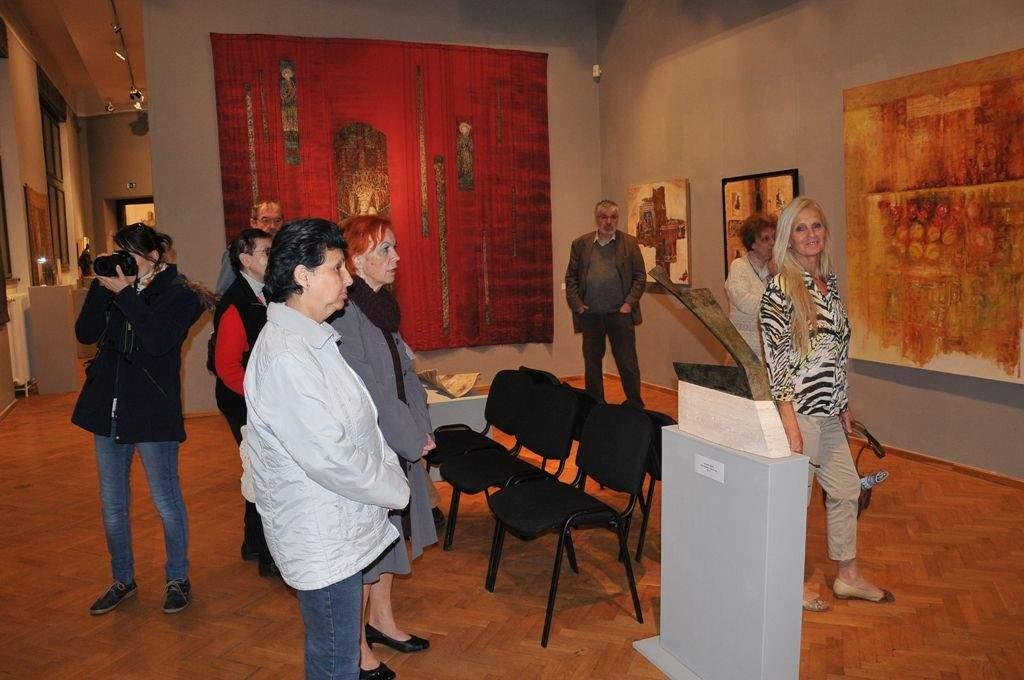 A Múzeumi Világnap alkalmából a Cifrapalotában járt a Wojtyla Ház családja