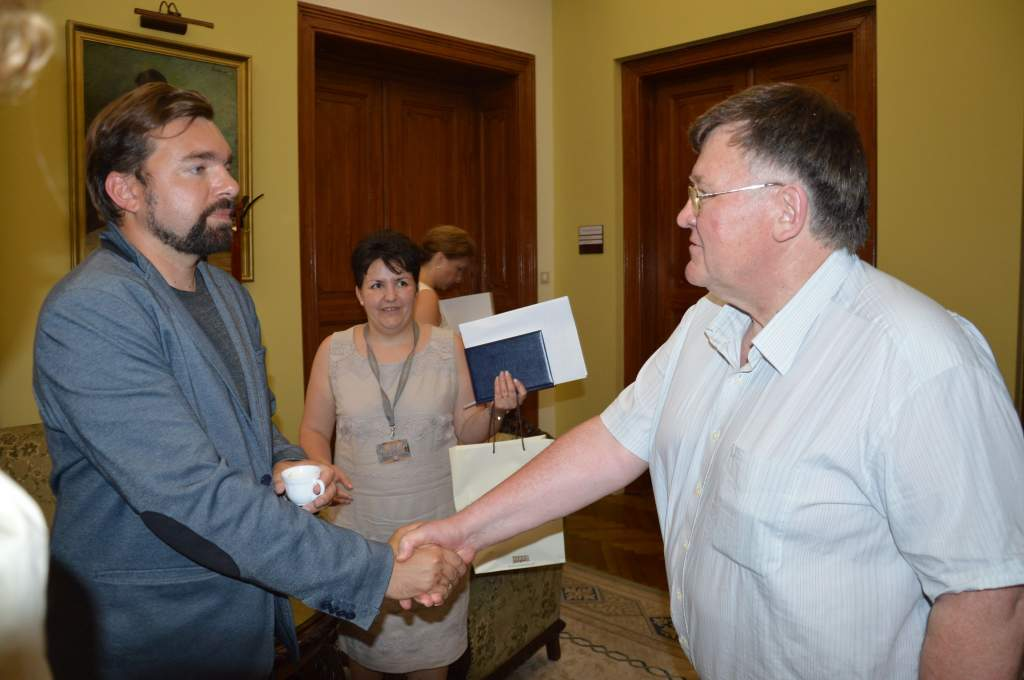 Kecskemétre látogatott Wadowice polgármestere - a Wojtyla Házban is járt
