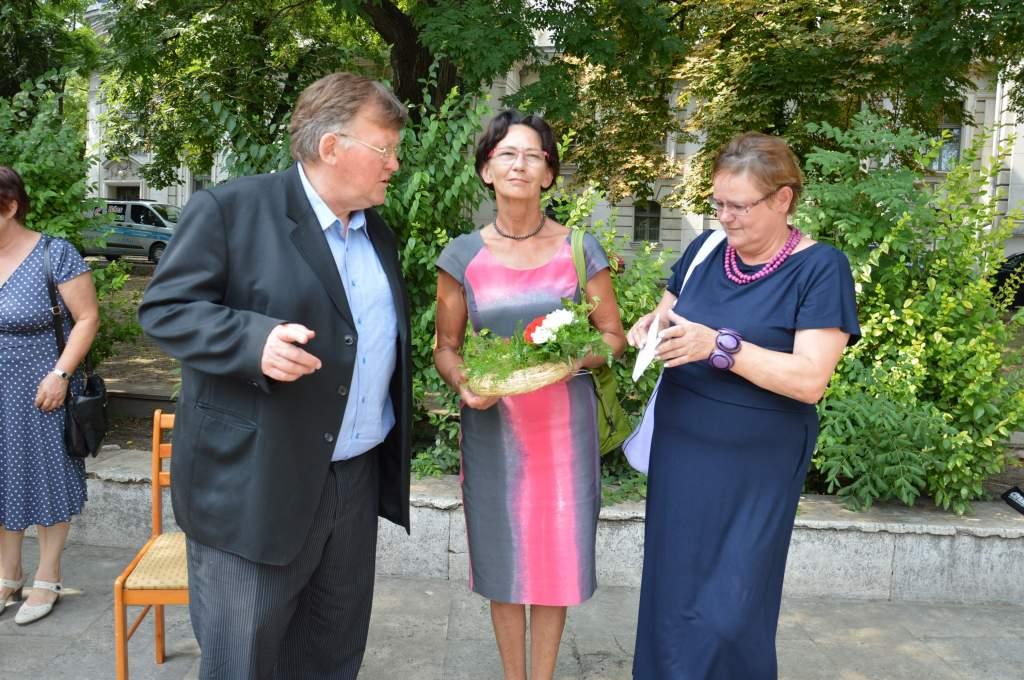 A Wojtyla Házba látogatott Ewa Filipiak – emlékkövet avatott a lengyel-magyar barátság tölgyfájánál