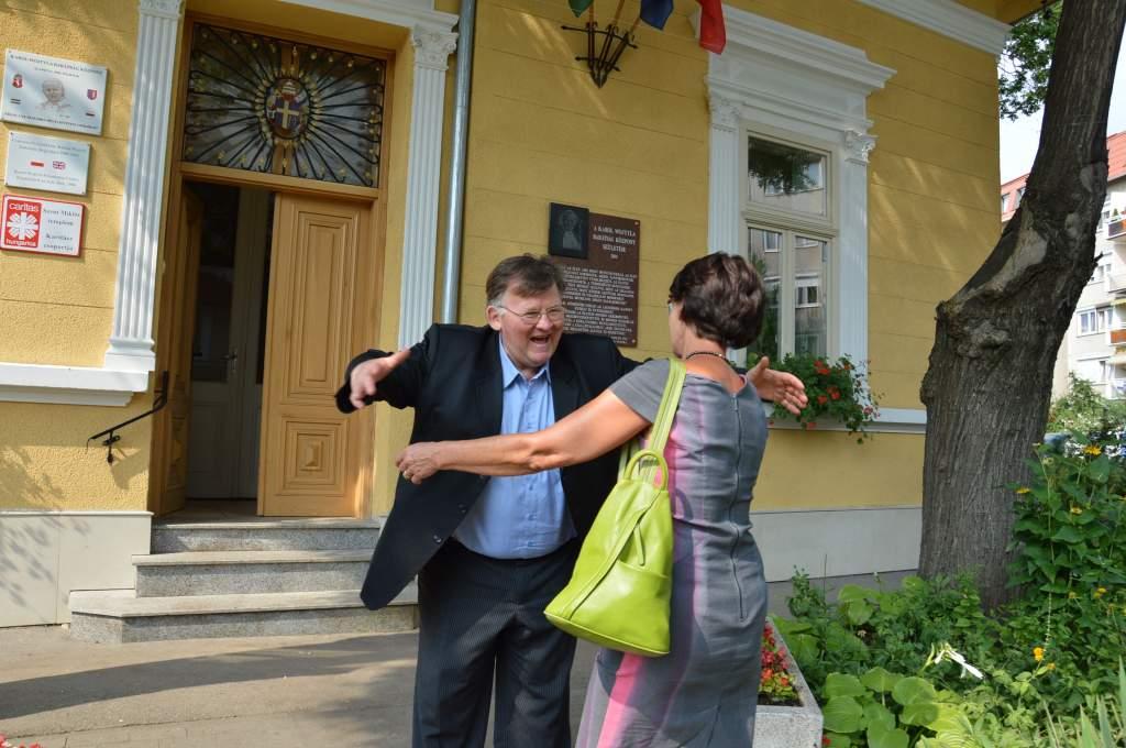 A Wojtyla Házba látogatott Ewa Filipiak – exkluzív interjút adott az Alföldi Civil Naplónak