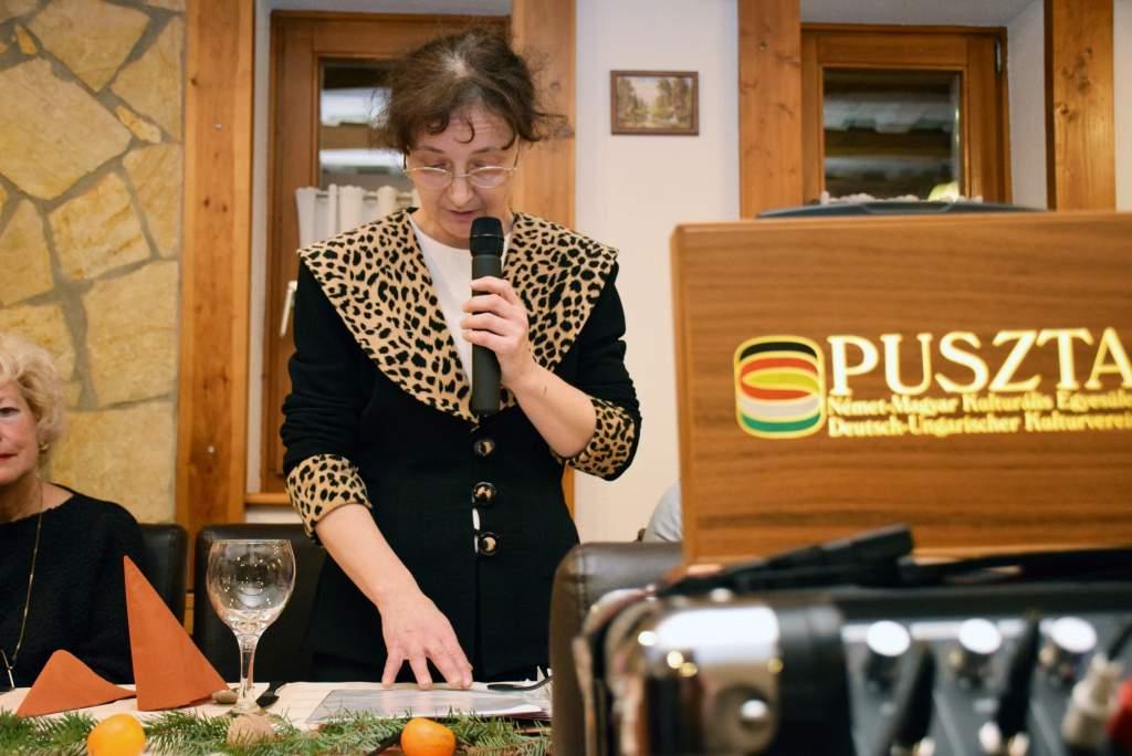 Karácsonyi ünnepséget tartott a Puszta Német-Magyar Kulturális Egyesület