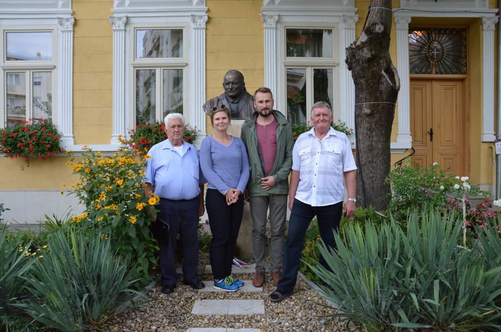A Wojtyla Házat is felkereste Wadowice alpolgármestere