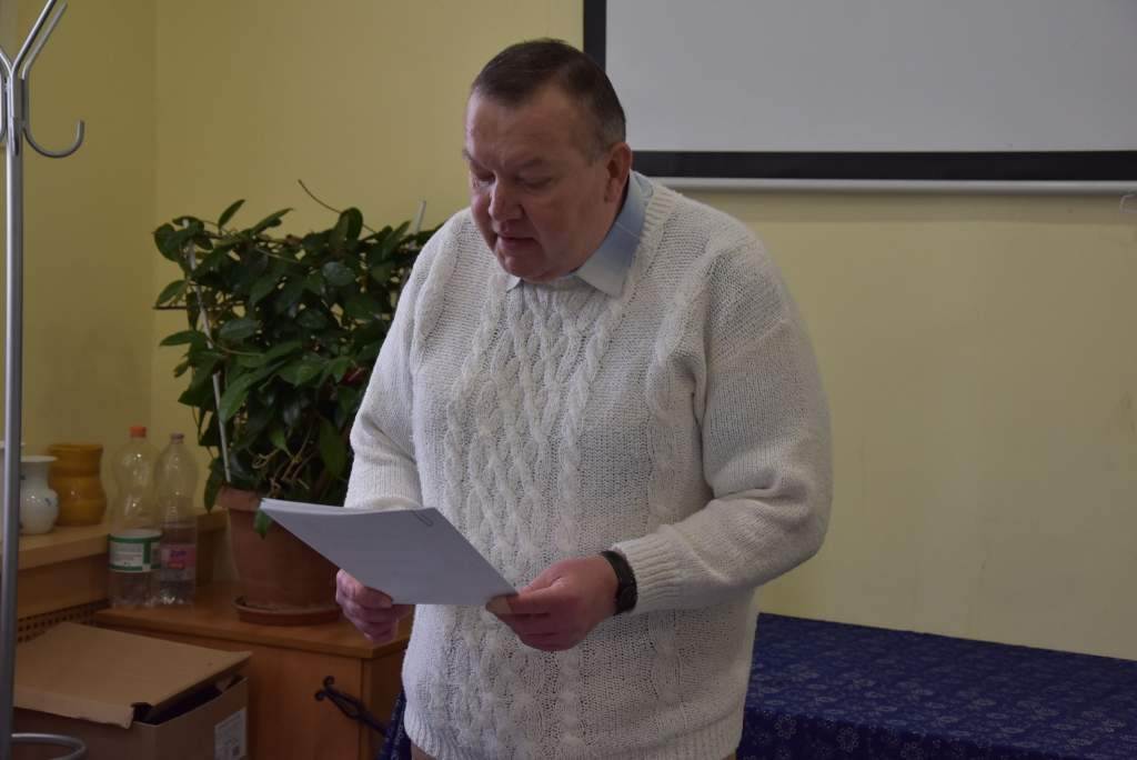 Oskolás János könyvbemutatót tartott a Wojtyla Házban