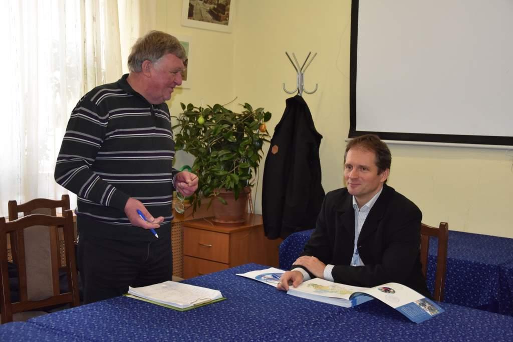 A BÁCSVÍZ Zrt. szakembere tartott előadást a Wojtyla Házban