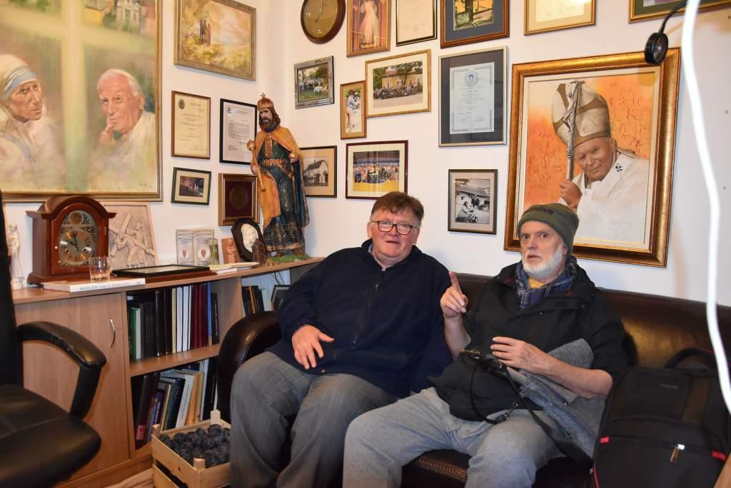 A kerékpár történetéről mesélt Leskowsky Albert a Wojtyla Házban