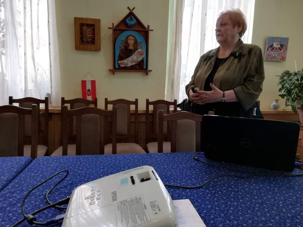 Ramháb Mária a Wojtyla Házban