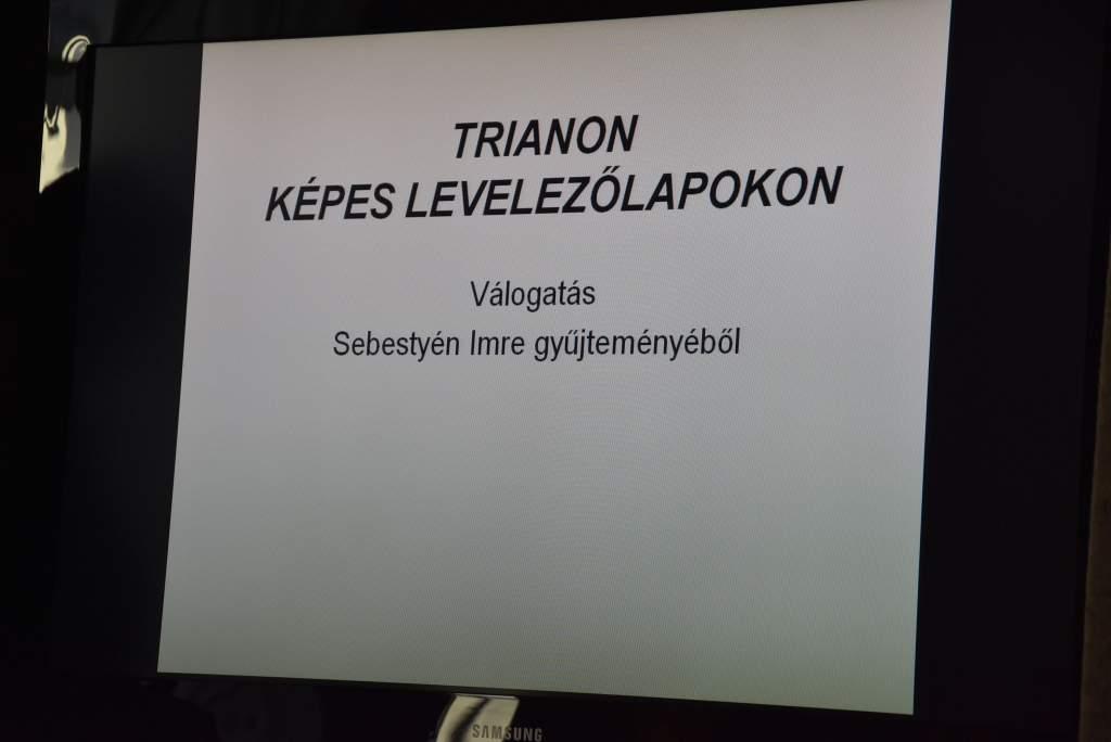 Trianon képes levelezőlapokon – Székelyné Kőrösi Ilona előadása
