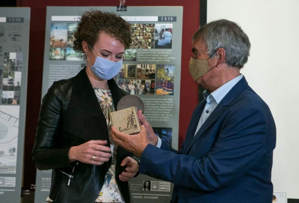 Idén már a Mende Valér-díjat is átadták az építészek ünnepén Kecskeméten