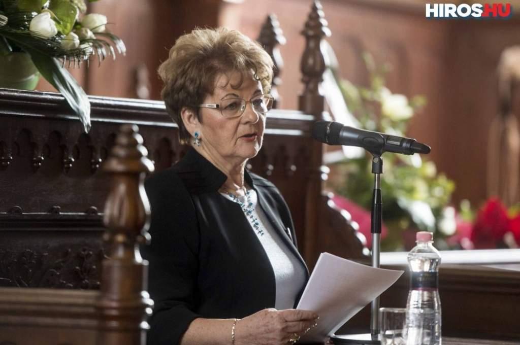 Állami kitüntetést kapott Horváth Attiláné