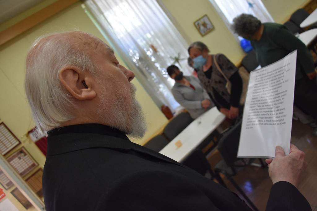 A kecskeméti baptisták támogatásával osztottak ebédet a Wojtylában