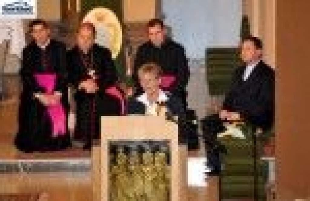 Dr. Hoffmann Rózsa  államtitkár évnyitó beszéde a katolikus iskolák Veni sancte-jén Kiskunmajsán