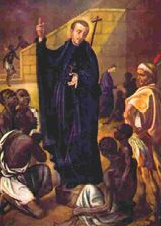 A NAP SZENTJE: CLAVER SZENT PÉTER jezsuita misszionárius