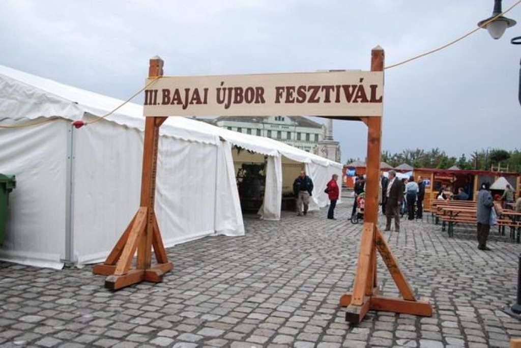 III. Bajai Újbor Fesztivál