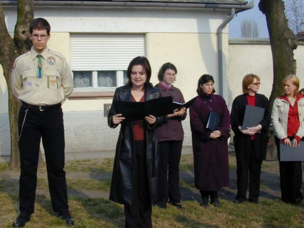 Keresztszentelés a Mezei utcában