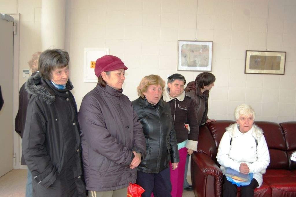 Nőnapi program: a Wojtyla Ház hölgyei a Művelődési Központban jártak