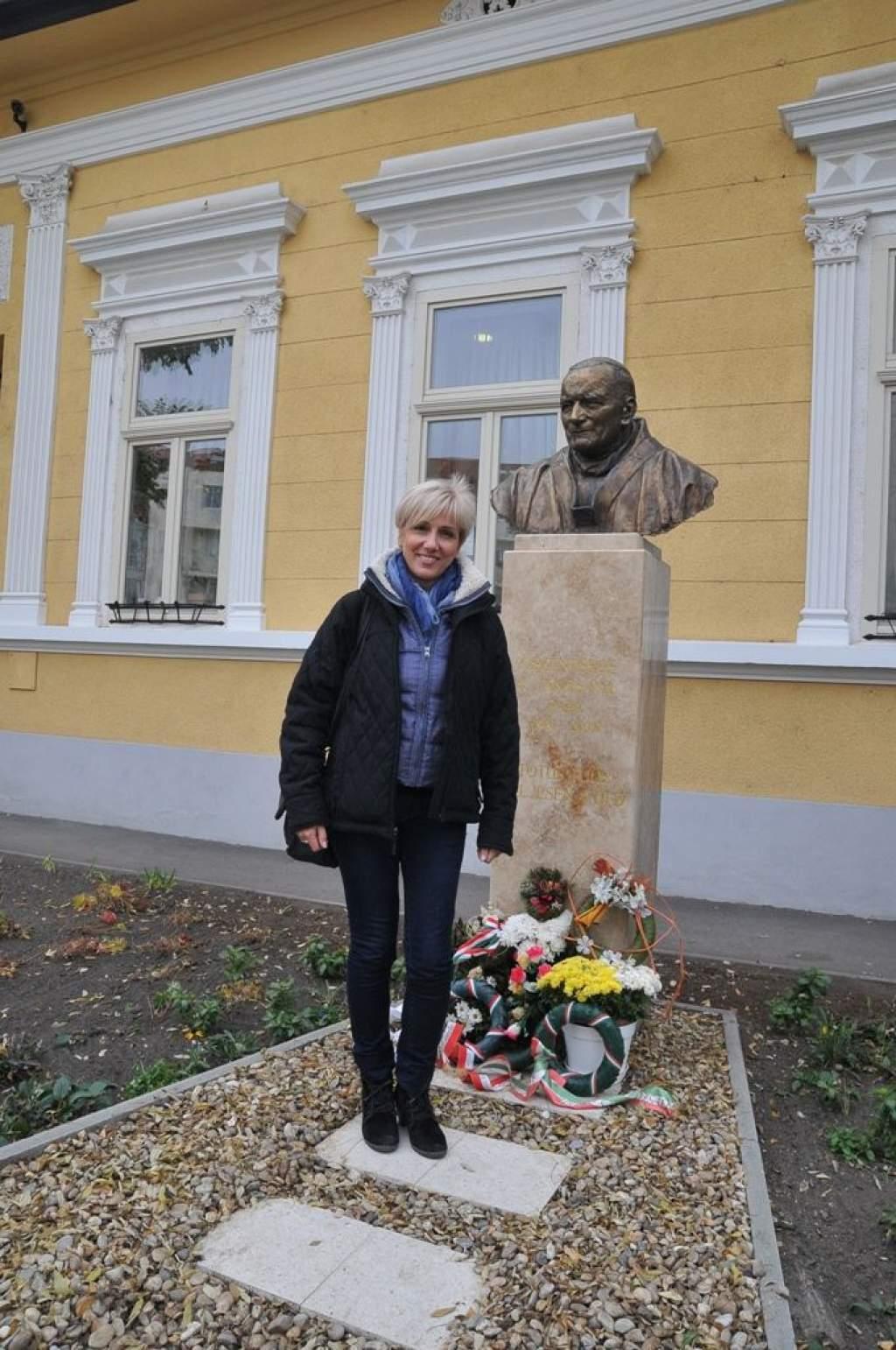 Barabás Éva, a Fókusz műsorvezetője, az SOS Gyermekfalvak nagykövete járt a Wojtyla Házban-VIDEÓVAL