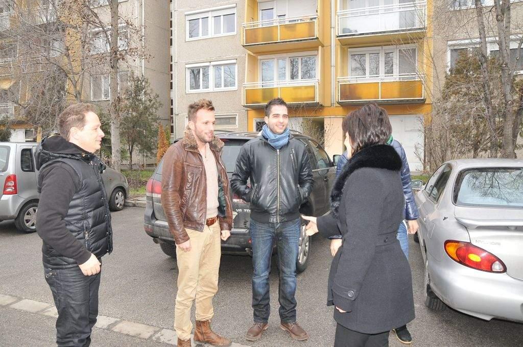 Geszti Péter, Oláh Gergő, Szabó Dávid és Fehér Zoli Kecskeméten jótékonykodott