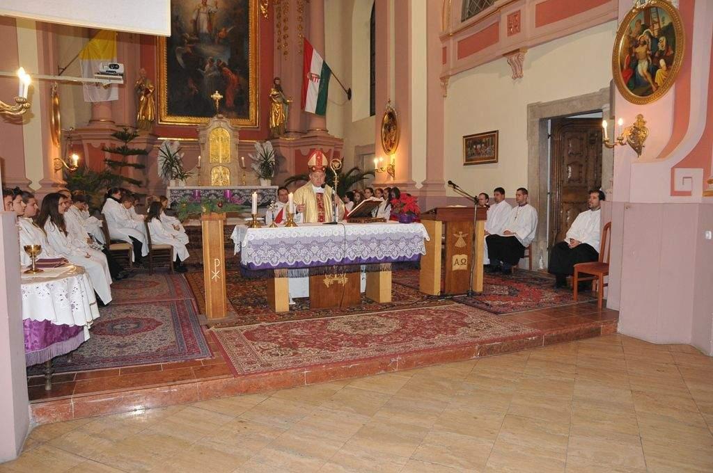 Érseki szentmise Szent Miklós napján