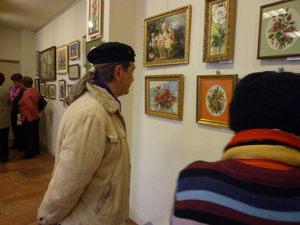 Kézimunka kiállításon jártunk