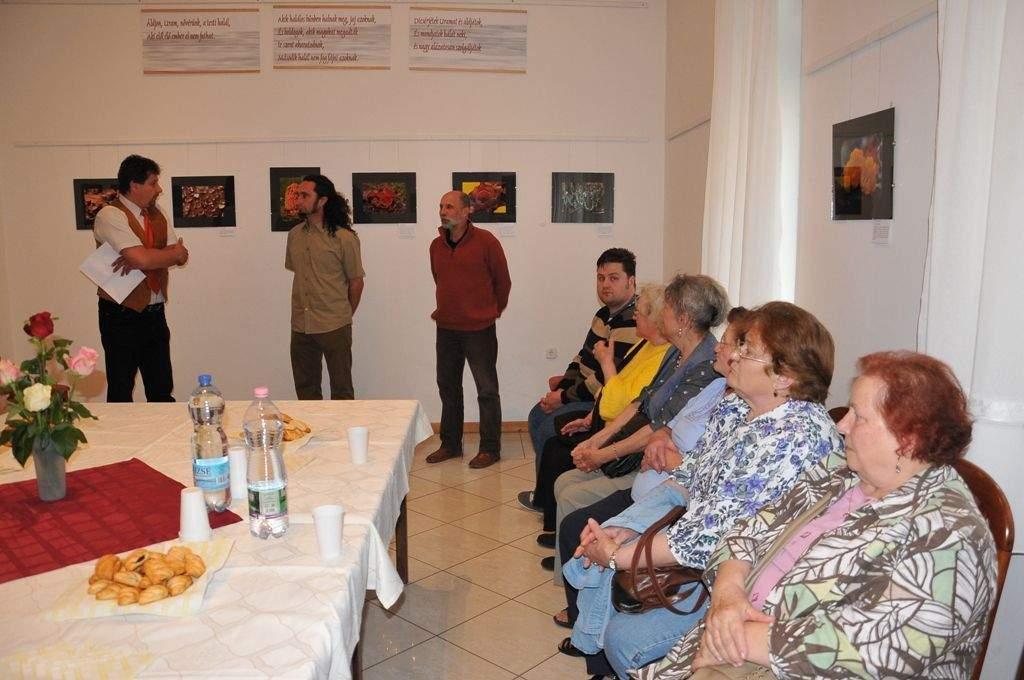 Gomba kiállítás a Porta Díszteremben