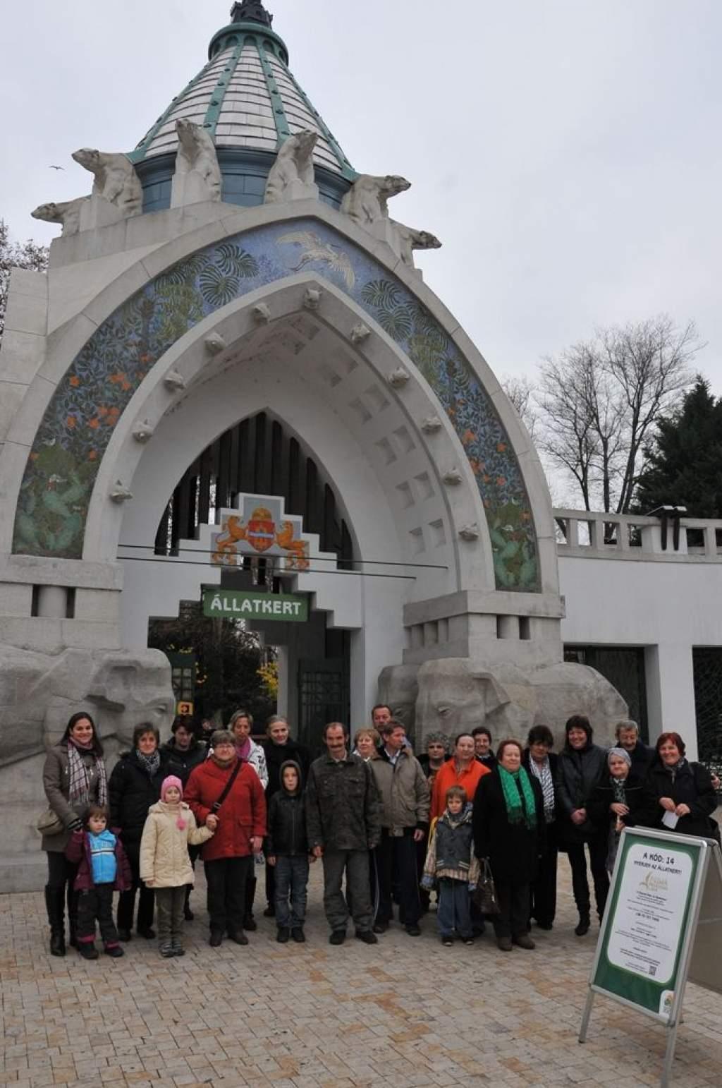 Budapesti kirándulás: állatkert, cirkusz, Titok Galéria