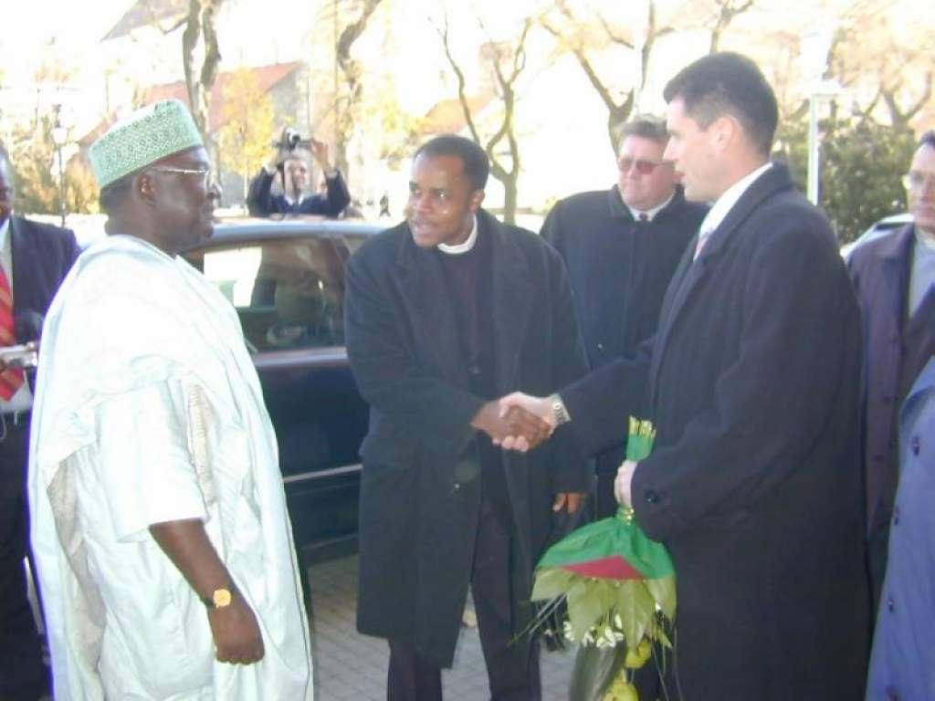 Nigériai vendégek Kecskeméten