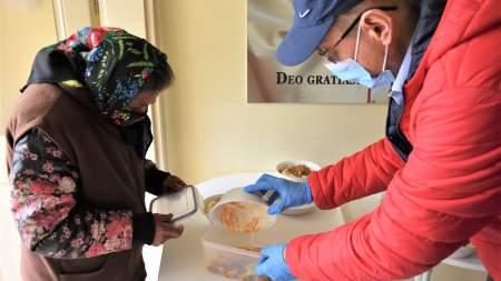 A Kecskeméti Szakképzési Centrum étkeztette a rászorultakat