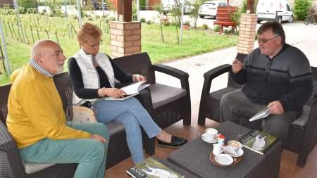 Borotán tárgyaltak az Anna Margit-kiállítás szervezői