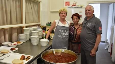 A Zubor család főzött a szegényeknek